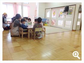 1歳児保育室(うさぎ組)