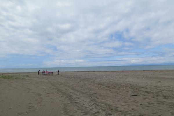 海風を見に行く