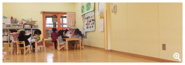 2歳児保育室(りす組)
